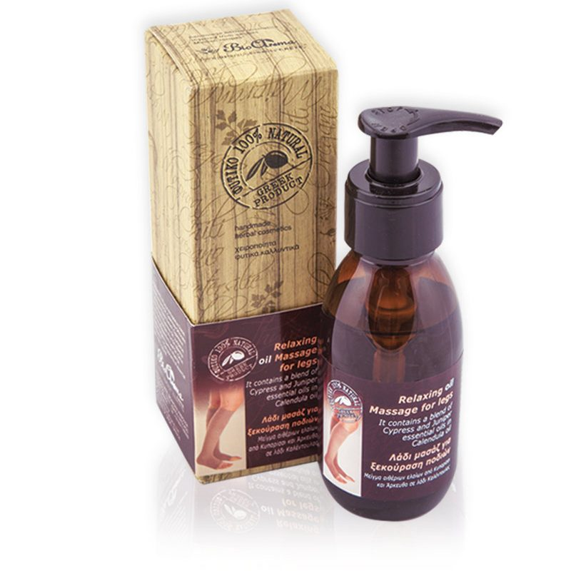 BioAroma - Relaxing massage oil for legs / 100ml (Body Care)